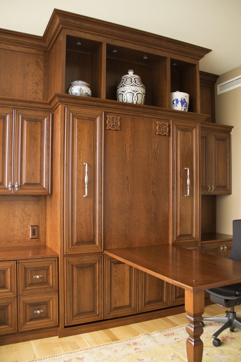 Chicago New Eastside Murphy Bed Amp Desk Amish Cabinet