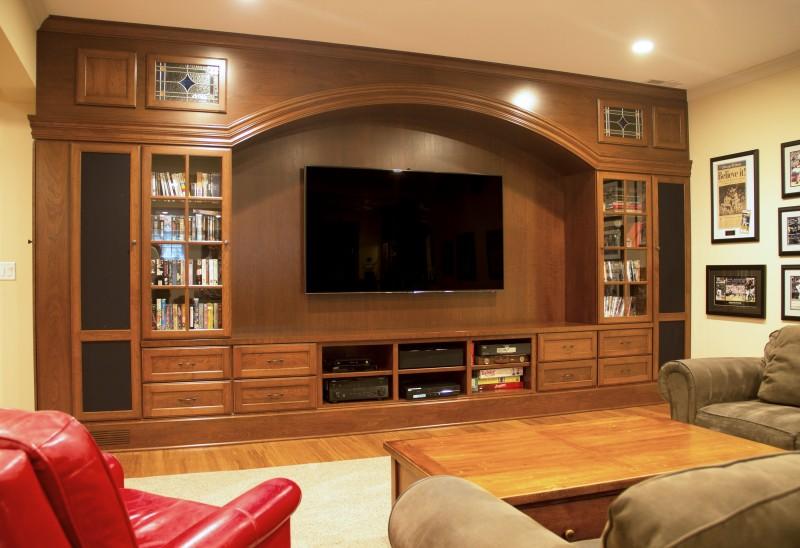 park ridge basement entertainment center bar amish cabinet company